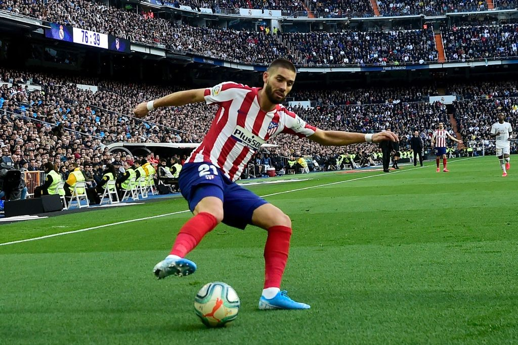 Back at Atletico and raring to go (Photo by OSCAR DEL POZO/AFP via Getty Images)