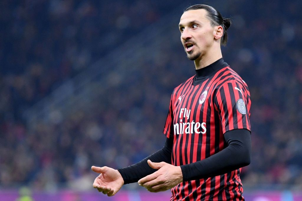 Zlatan Ibrahimovic is likely to be available for selection (Photo by Alberto Pizzoli/AFP via Getty Images)