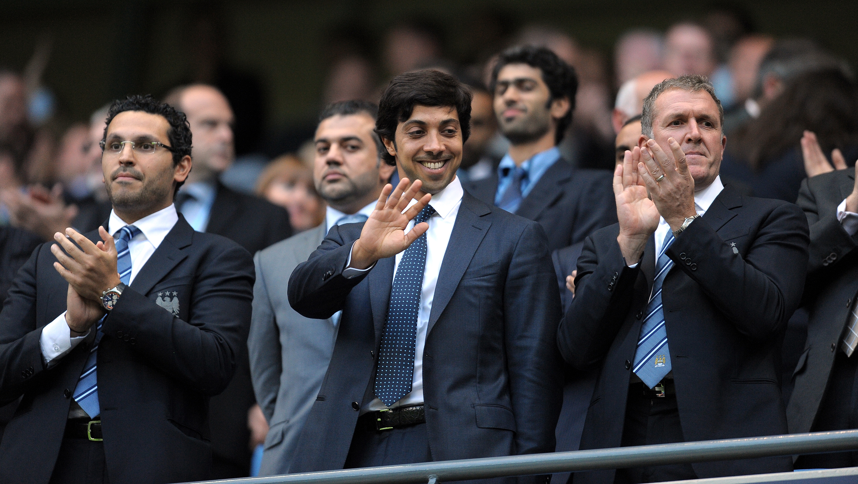 Sheikh Mansour's takeover in 2008 changed the fortunes of Manchester City (Photo by Andrew Yates/AFP via Getty Images)