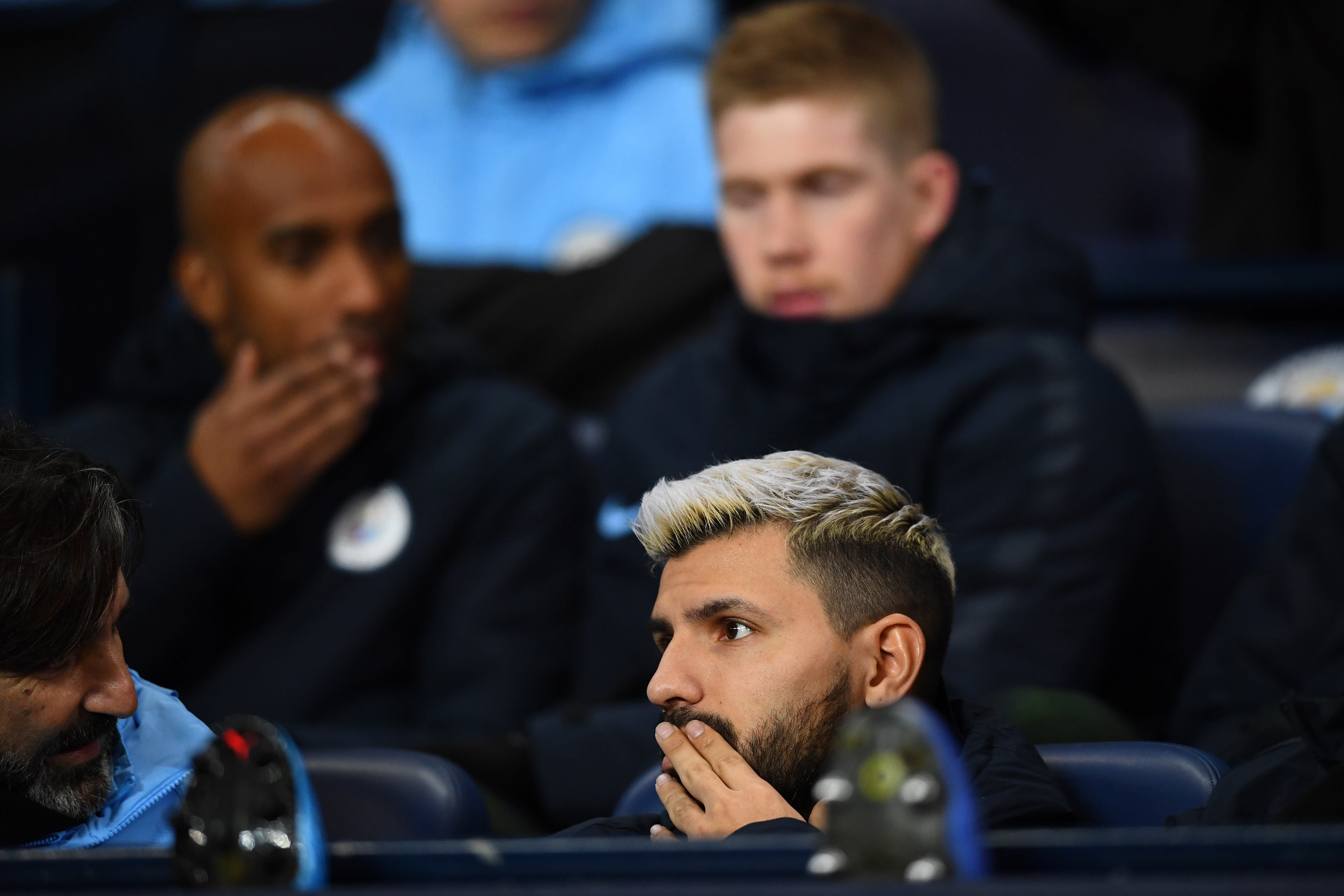 Sergio Aguero is in the final year of his contract (Photo by Clive Mason/Getty Images)