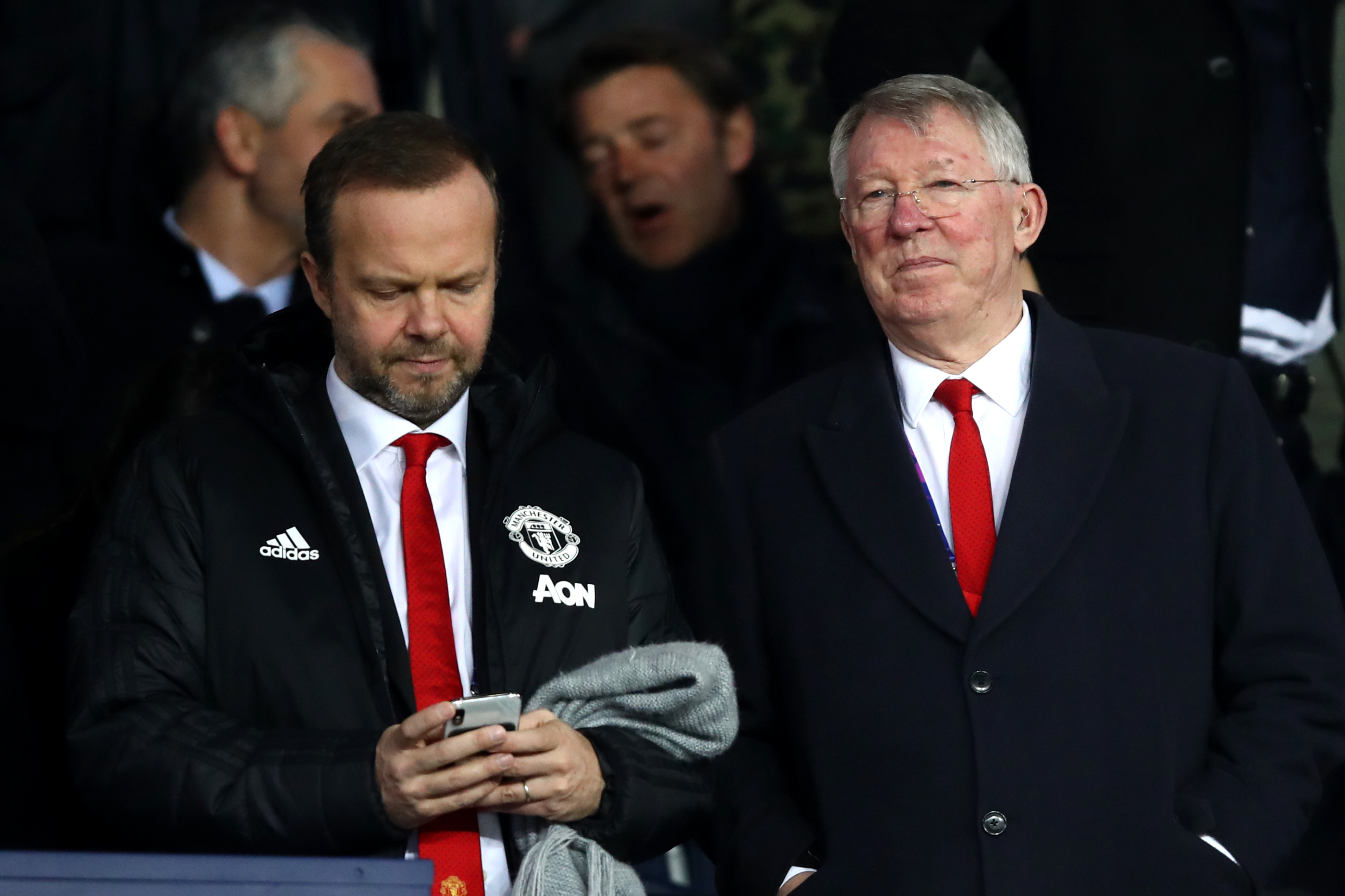 Things have been gloomy at Manchester United after Sir Alex Ferguson's retirement (Photo by Julian Finney/Getty Images)