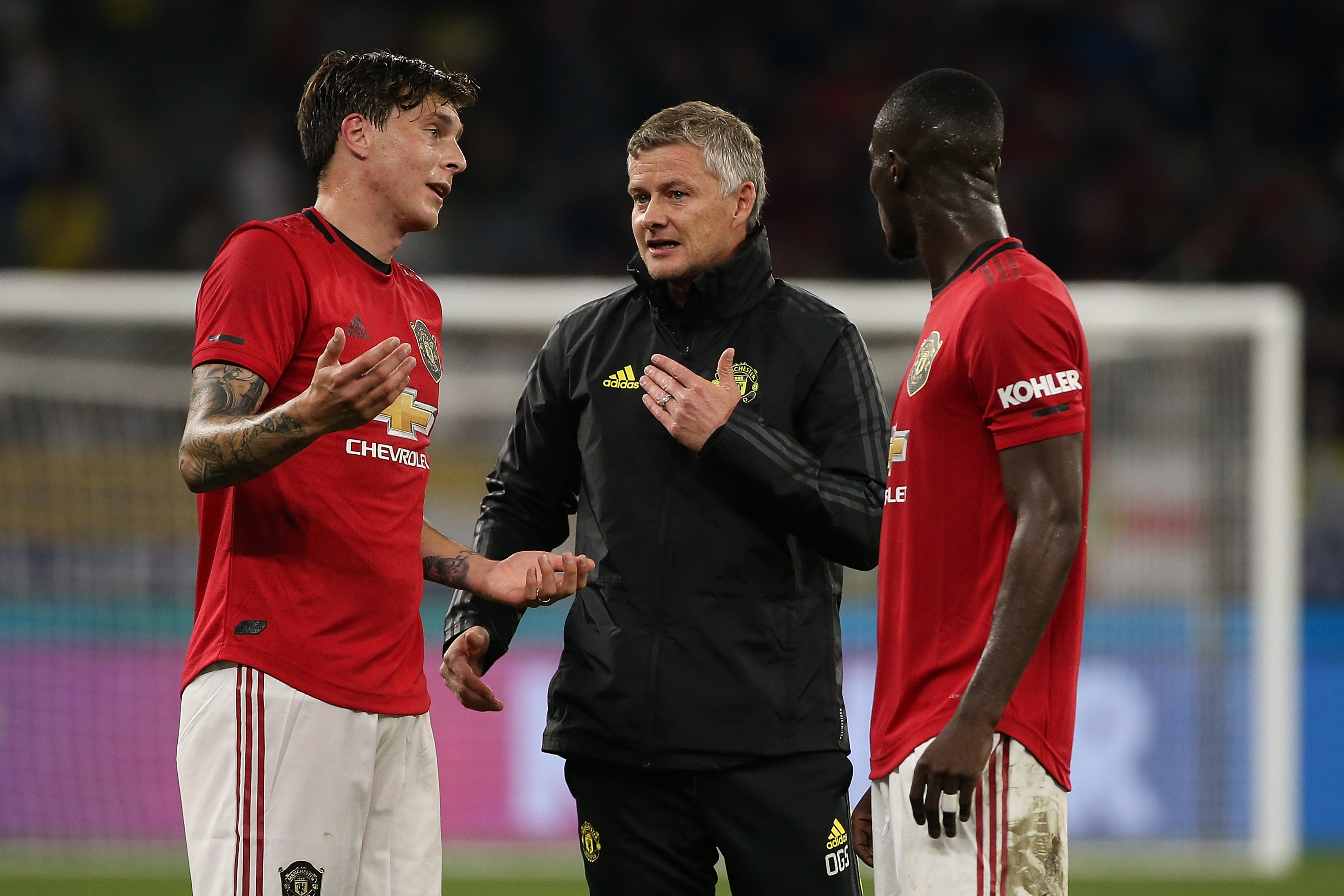 Eric Bailly could start ahead of Victor Lindelof. (Photo by Paul Kane/Getty Images)