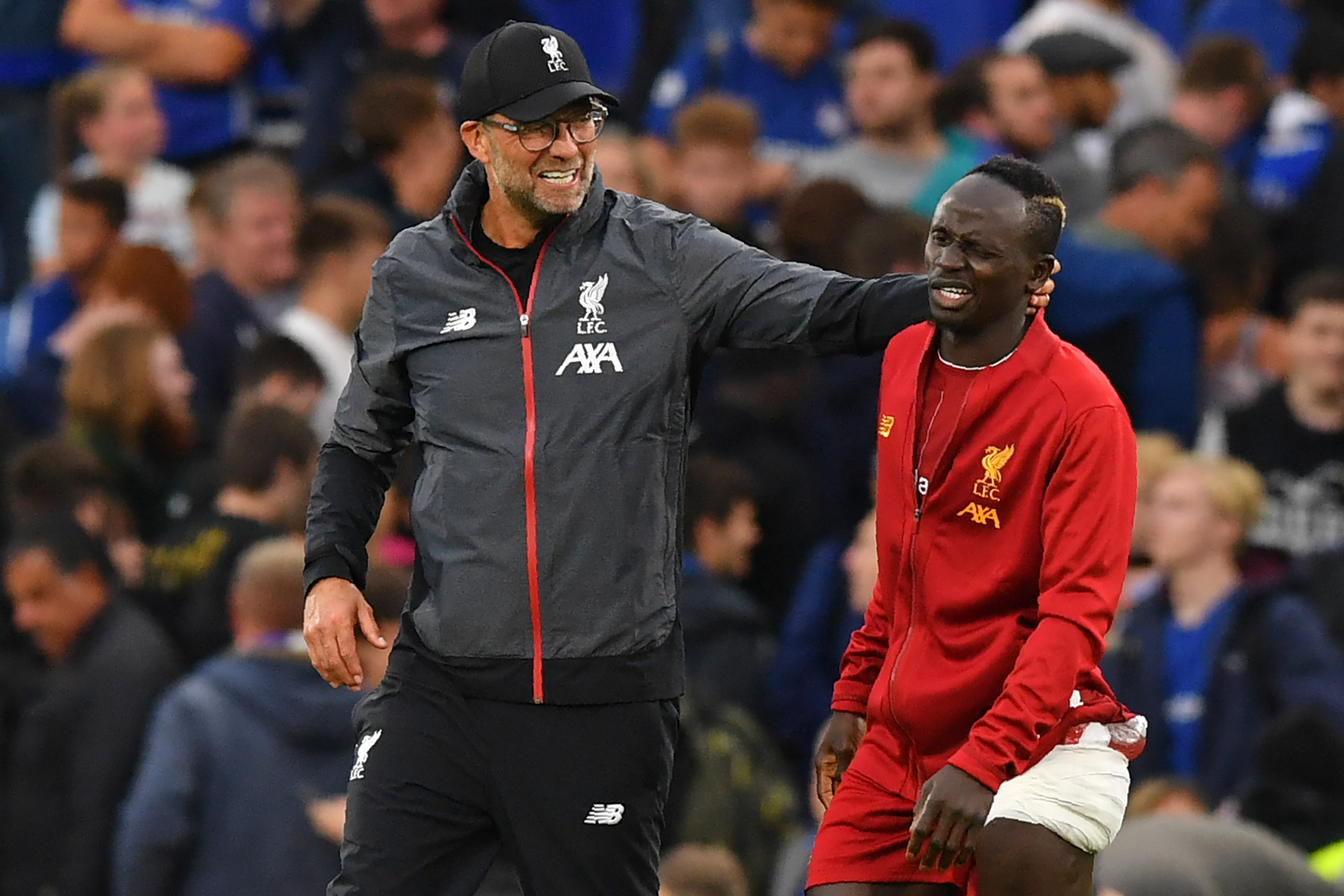 Will Mane part ways with Klopp this summer? (Photo by OLLY GREENWOOD/AFP via Getty Images)
