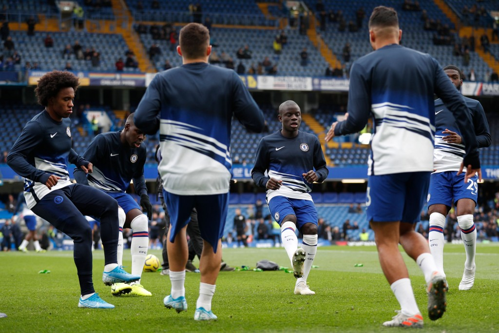 N'Golo Kante misses out once again for Chelsea. (Photo by Adrian Dennis/AFP via Getty Images)
