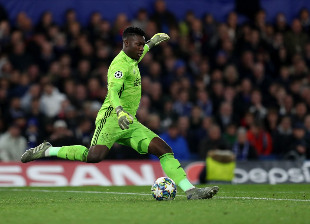Onana is wanted by Chelsea and Tottenham (Photo by Catherine Ivill/Getty Images)