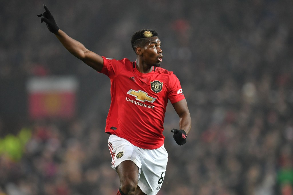 Will Pogba sign a new contract with Manchester United? (Photo by Paul Ellis/AFP via Getty Images)