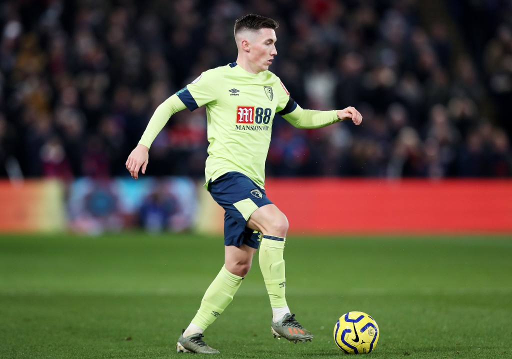 LONDON, ENGLAND - DECEMBER 03: Harry Wilson of AFC Bournemouth runs with the ball during the Premier League match between Crystal Palace and AFC Bournemouth at Selhurst Park on December 03, 2019 in London, United Kingdom. (Photo by Jack Thomas/Getty Images)