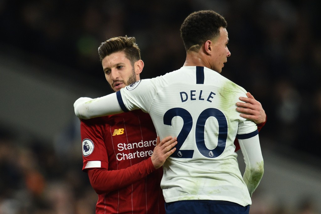 Could Lallana join Dele Alli at Tottenham? (Photo by Glyn Kirk/AFP via Getty Images)