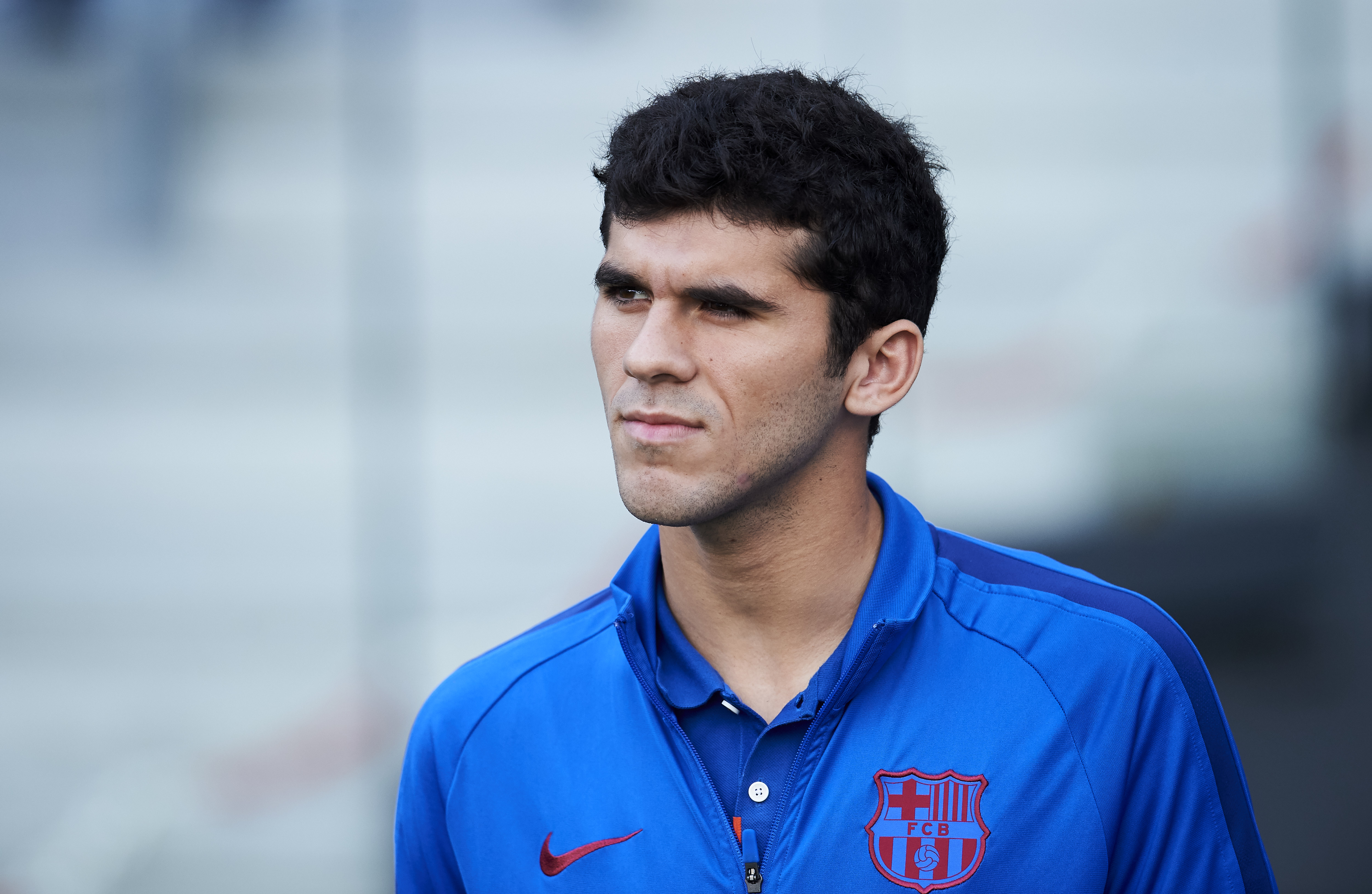 Carles Alena set for another loan stint away from Barcelona? (Photo by Juan Manuel Serrano Arce/Getty Images)