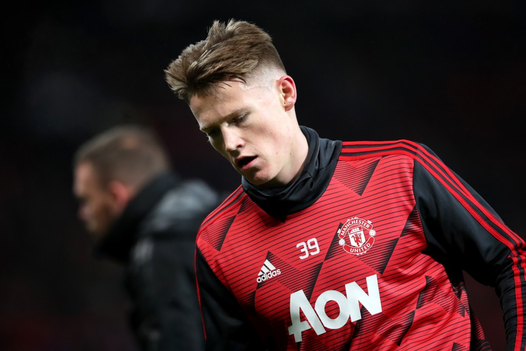 Scott McTominay will be in contention to feature against Watford. (Photo by Ian MacNicol/Getty Images)