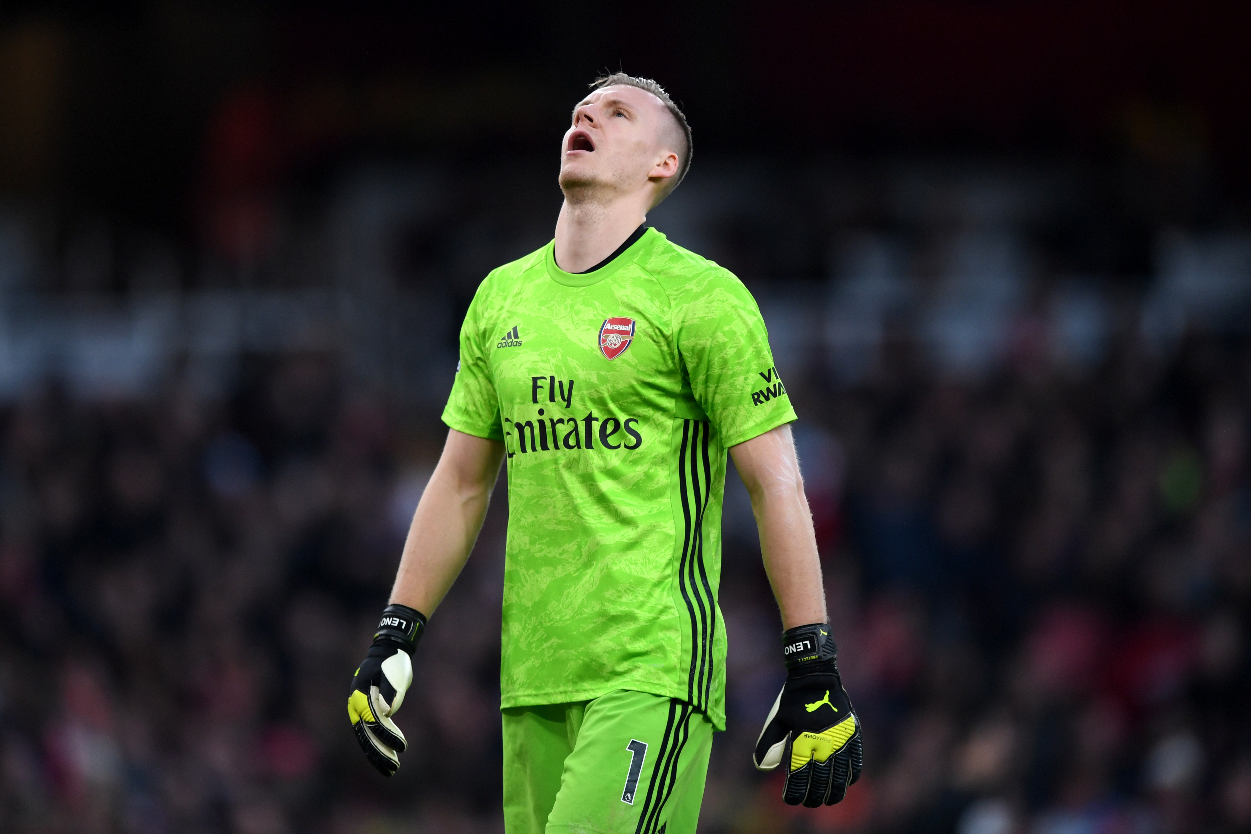 Brend Leno in line to start for Arsenal. (Photo by Shaun Botterill/Getty Images)