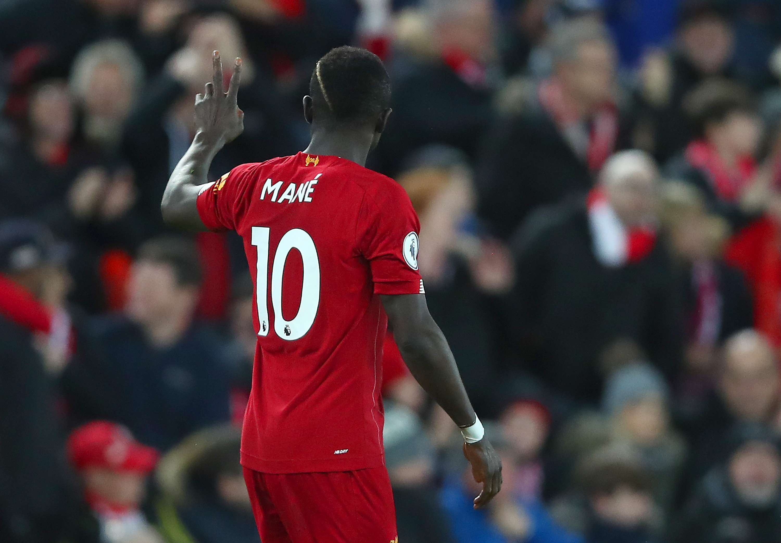 Sadio Mane has tested positive for coronavirus (Photo by Clive Brunskill/Getty Images)