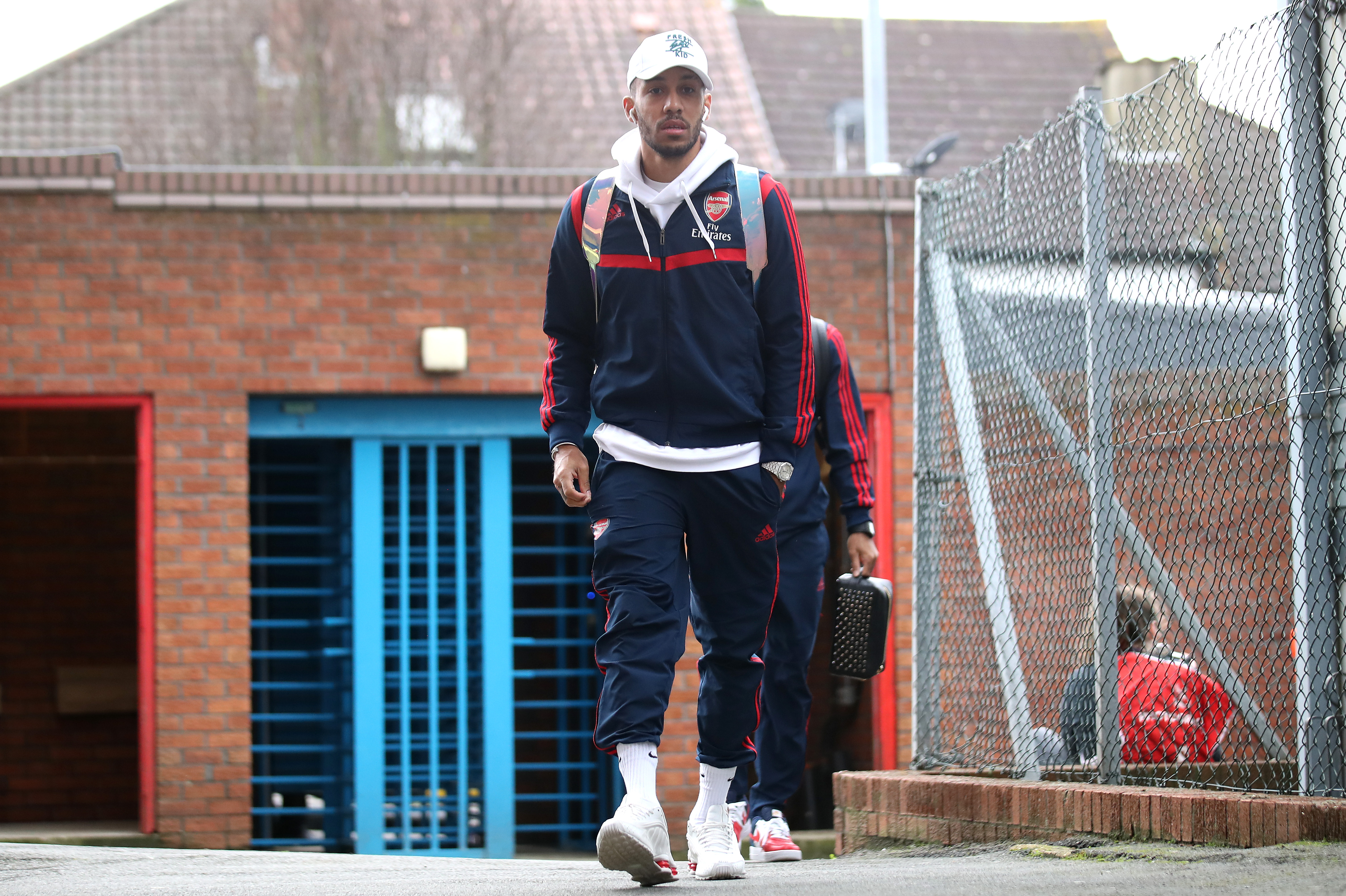 Aubameyang on his way out? (Photo by Alex Pantling/Getty Images)