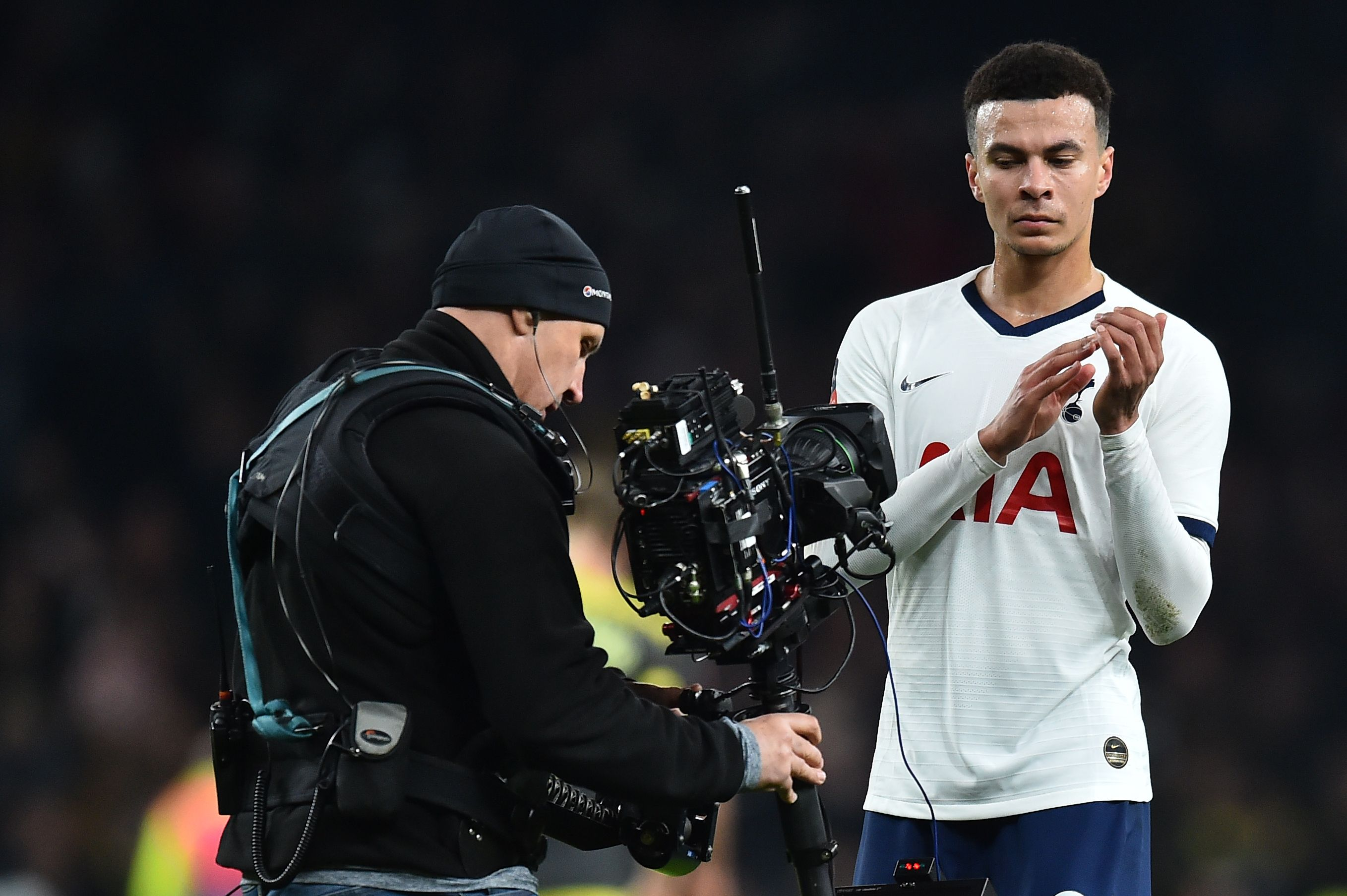 Dele Alli might not be involved on Sunday (Photo by GLYN KIRK/AFP via Getty Images)