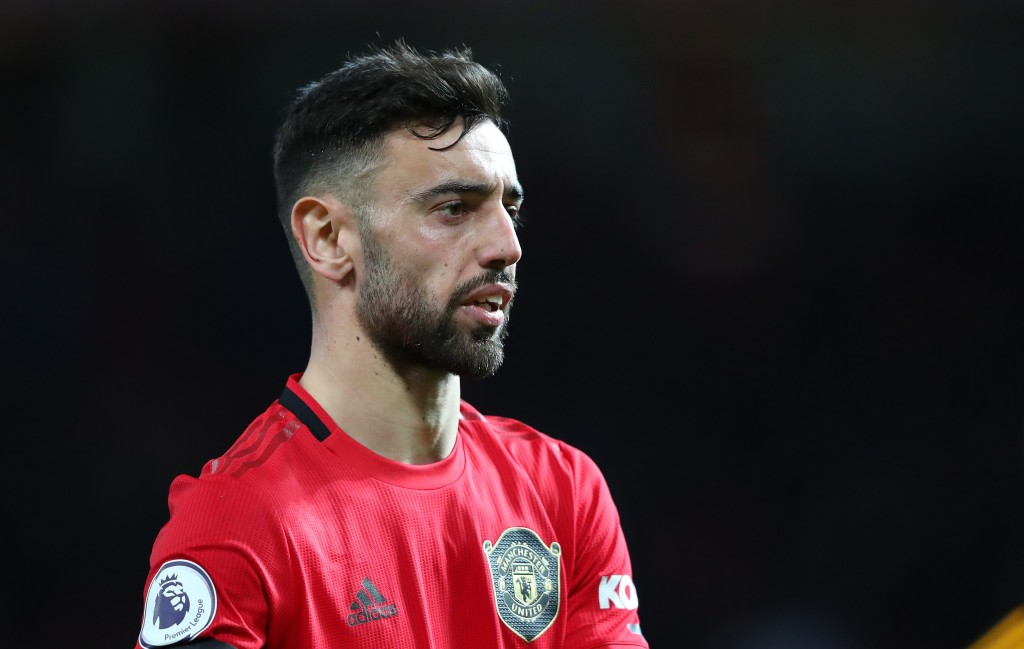 A few below average outings for Bruno Fernandes now. (Picture Courtesy - AFP/Getty Images)