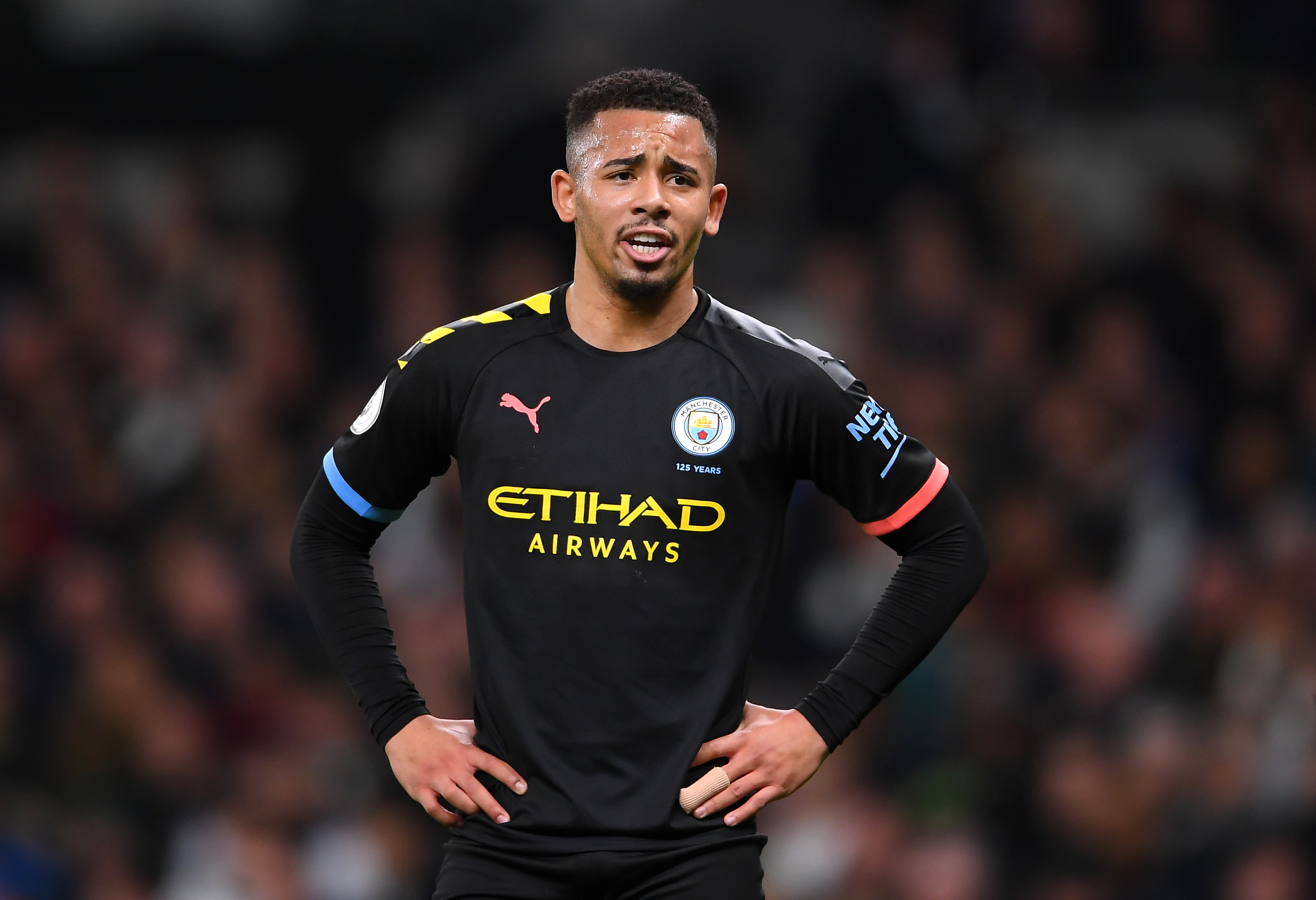 Gabriel Jesus is the latest Manchester City player to be sidelined early into the season. (Photo by Laurence Griffiths/Getty Images)