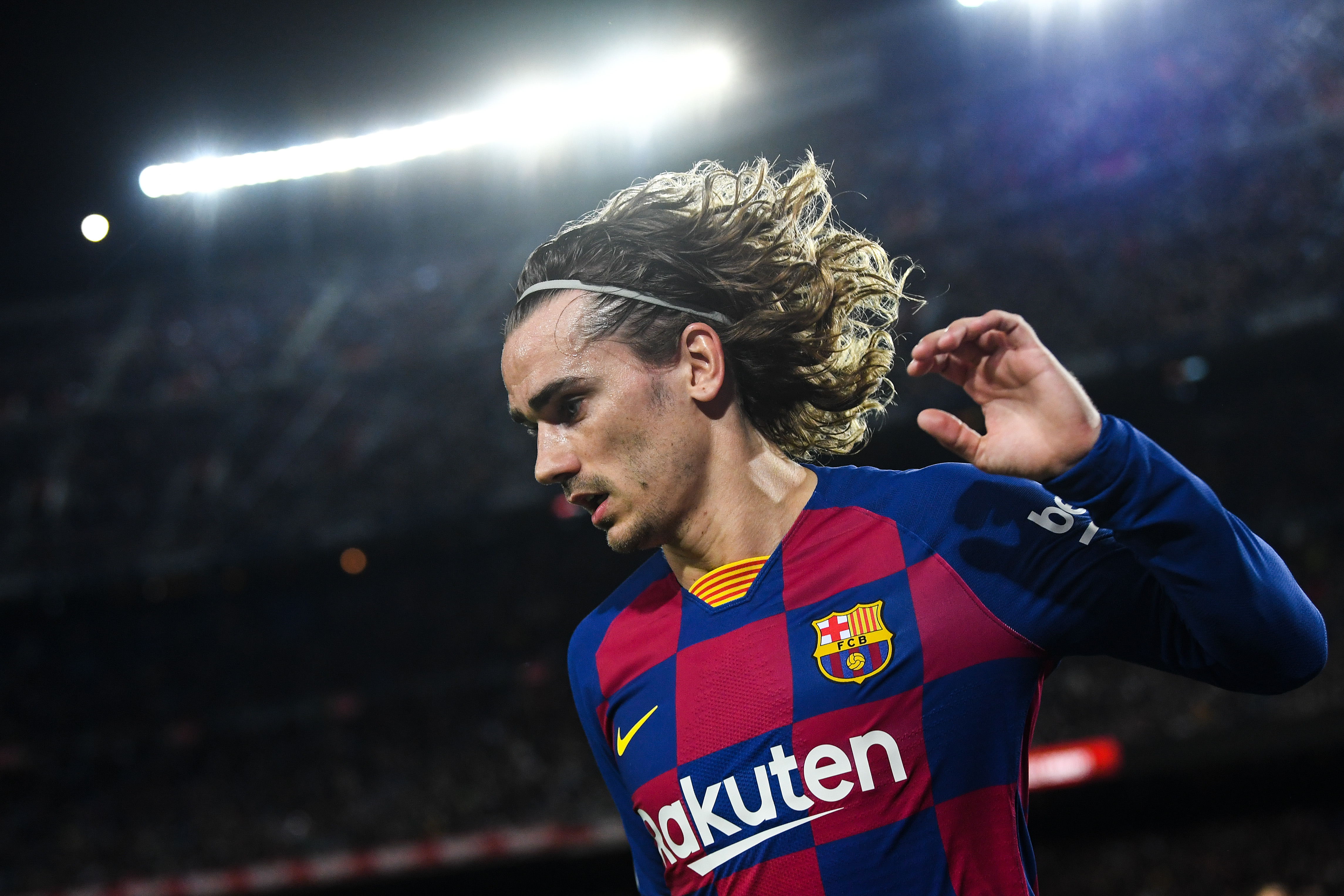 Antoine Griezmann is unavailable for selection for Barcelona (Photo by David Ramos/Getty Images)