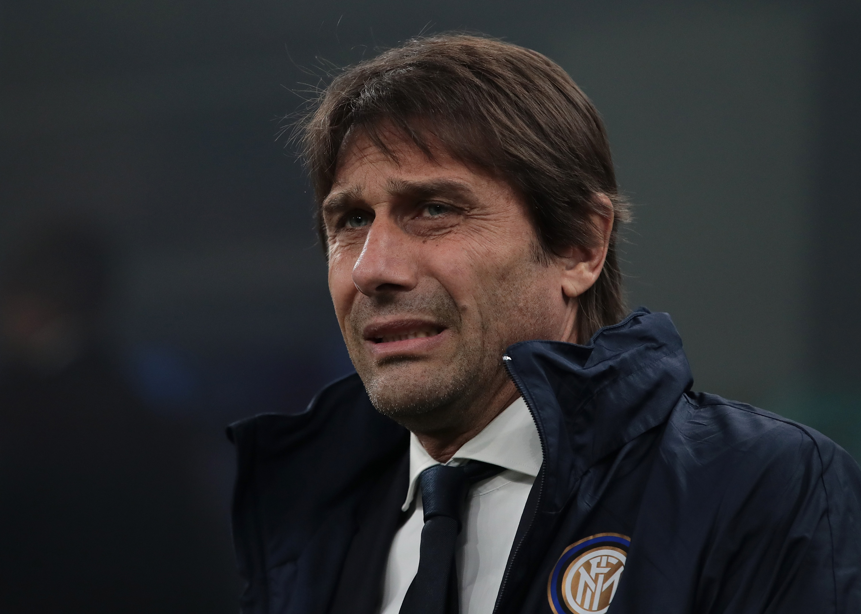 Conte has a couple of injury concerns ahead of Tuesday's game (Photo by Emilio Andreoli/Getty Images)