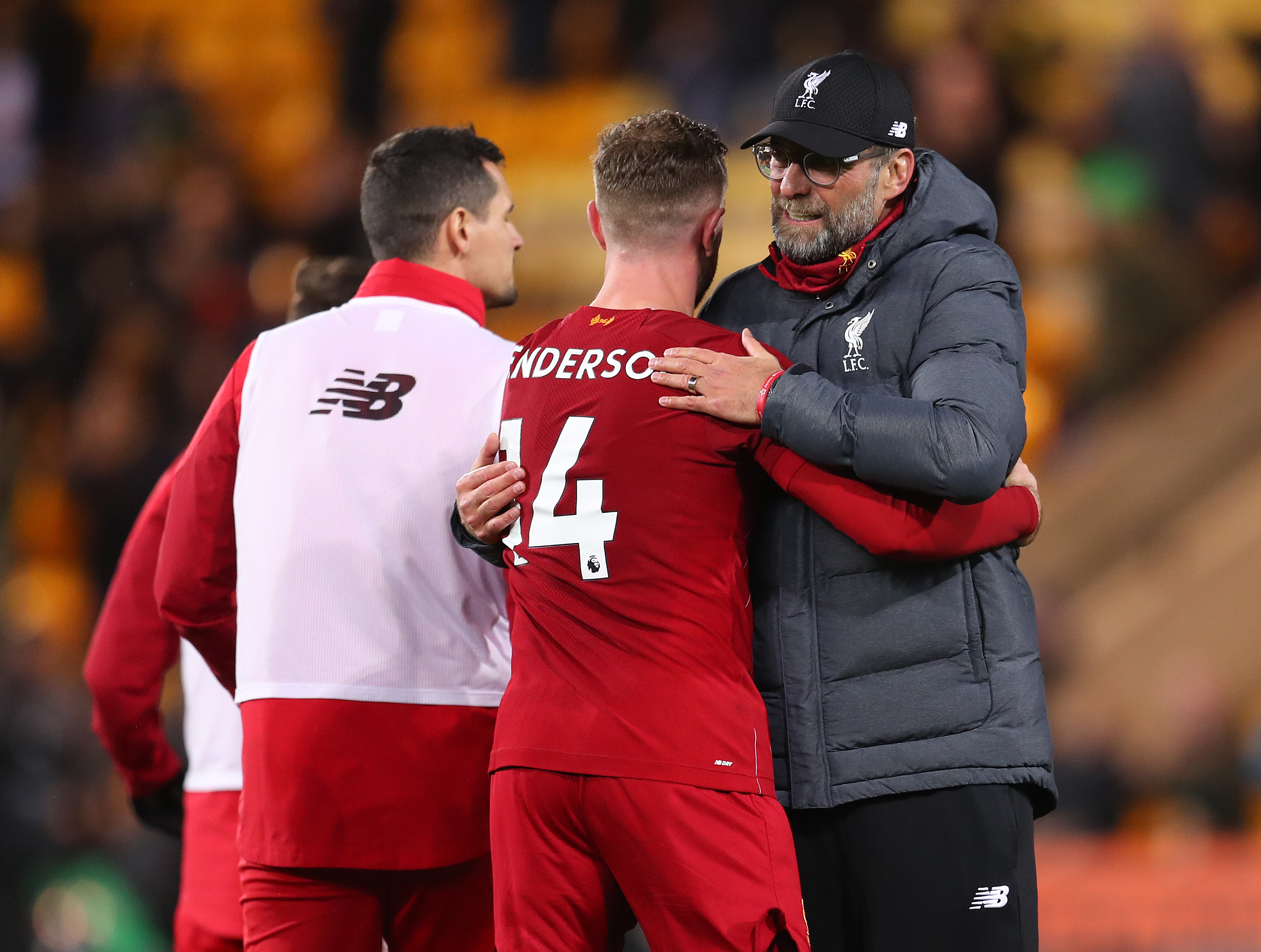 Will Jurgen Klopp's trusted lieutenant be fit to feature against Manchester United? (Photo by Catherine Ivill/Getty Images)