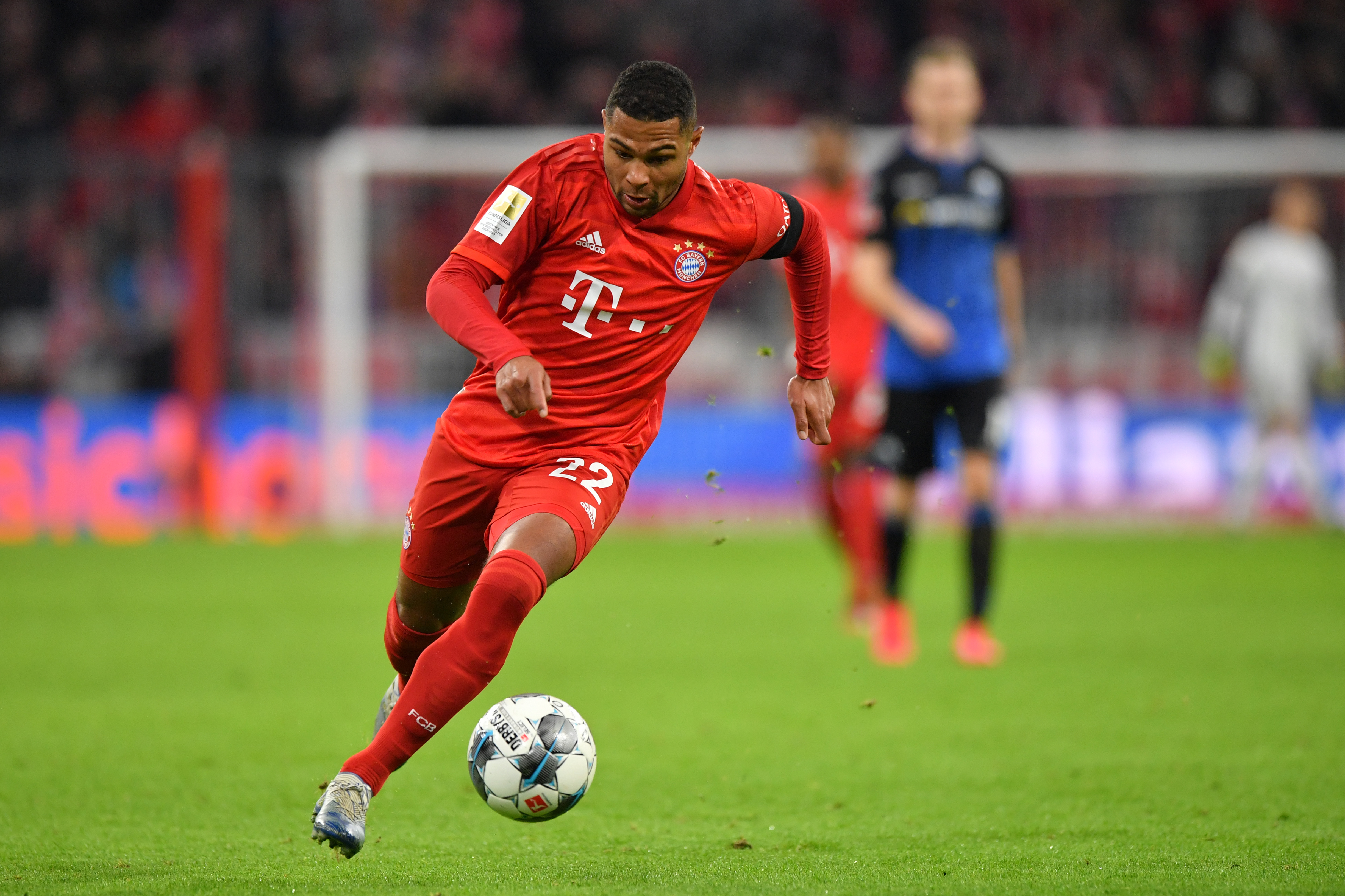 Can Chelsea handle the threat of Serge Gnabry? (Photo by Sebastian Widmann/Bongarts/Getty Images)