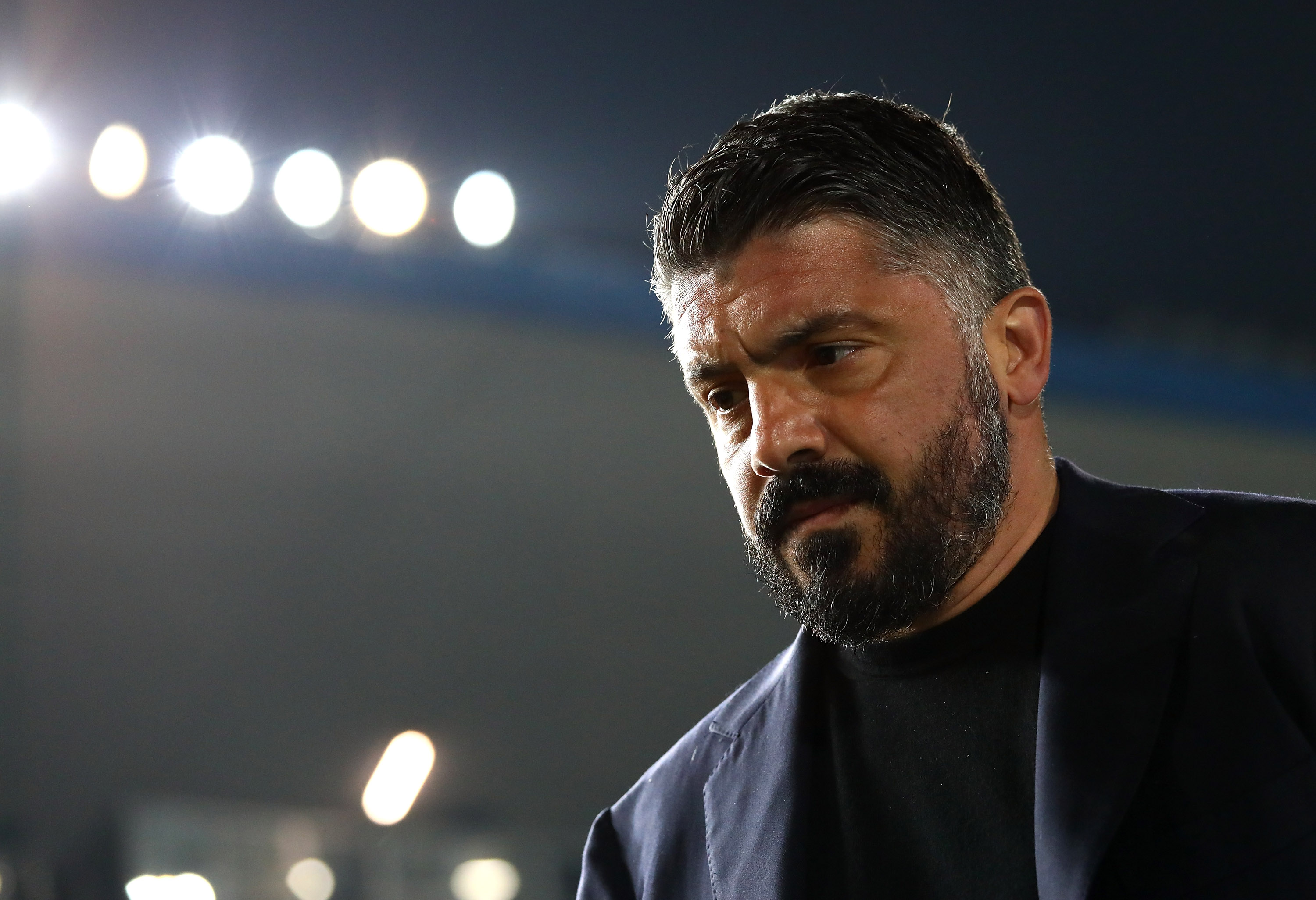 Gattuso getting it right at Napoli (Photo by Marco Luzzani/Getty Images)