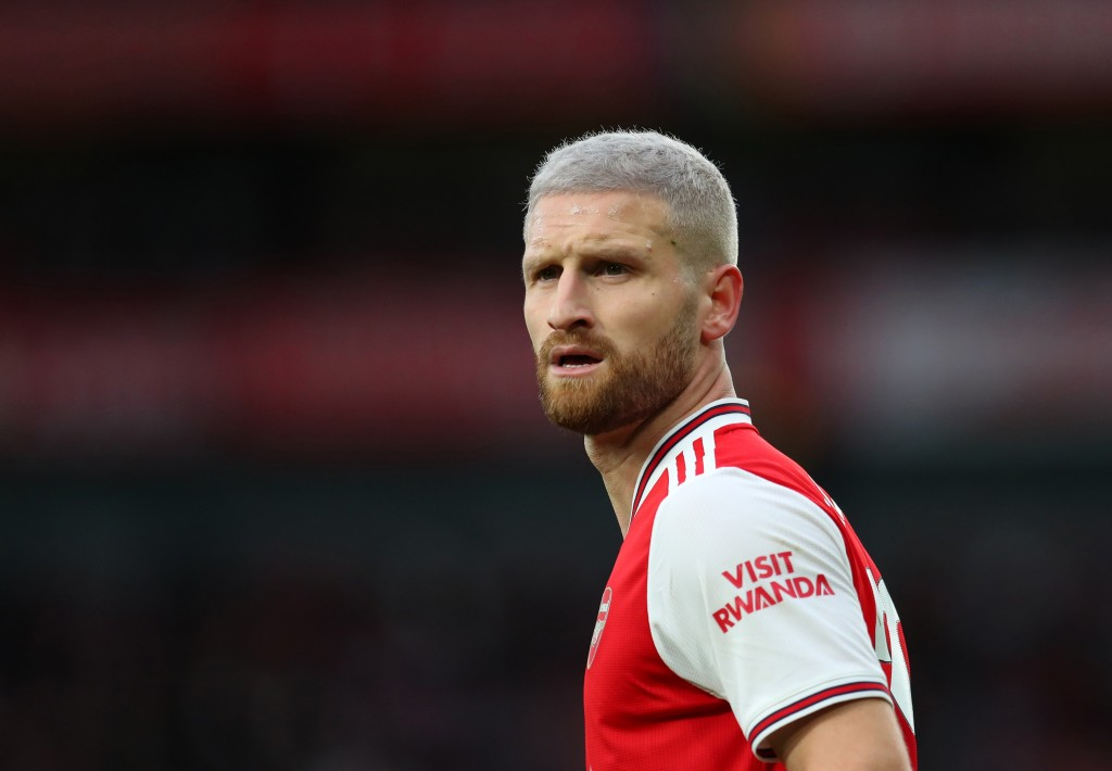 The in-form Mustafi will come in for Pablo Mari. (Photo by Catherine Ivill/Getty Images)