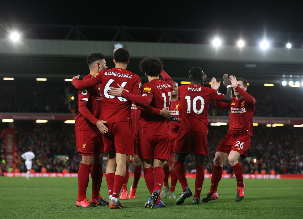 There has been very little stopping Liverpool this season. (Photo by Clive Brunskill/Getty Images)