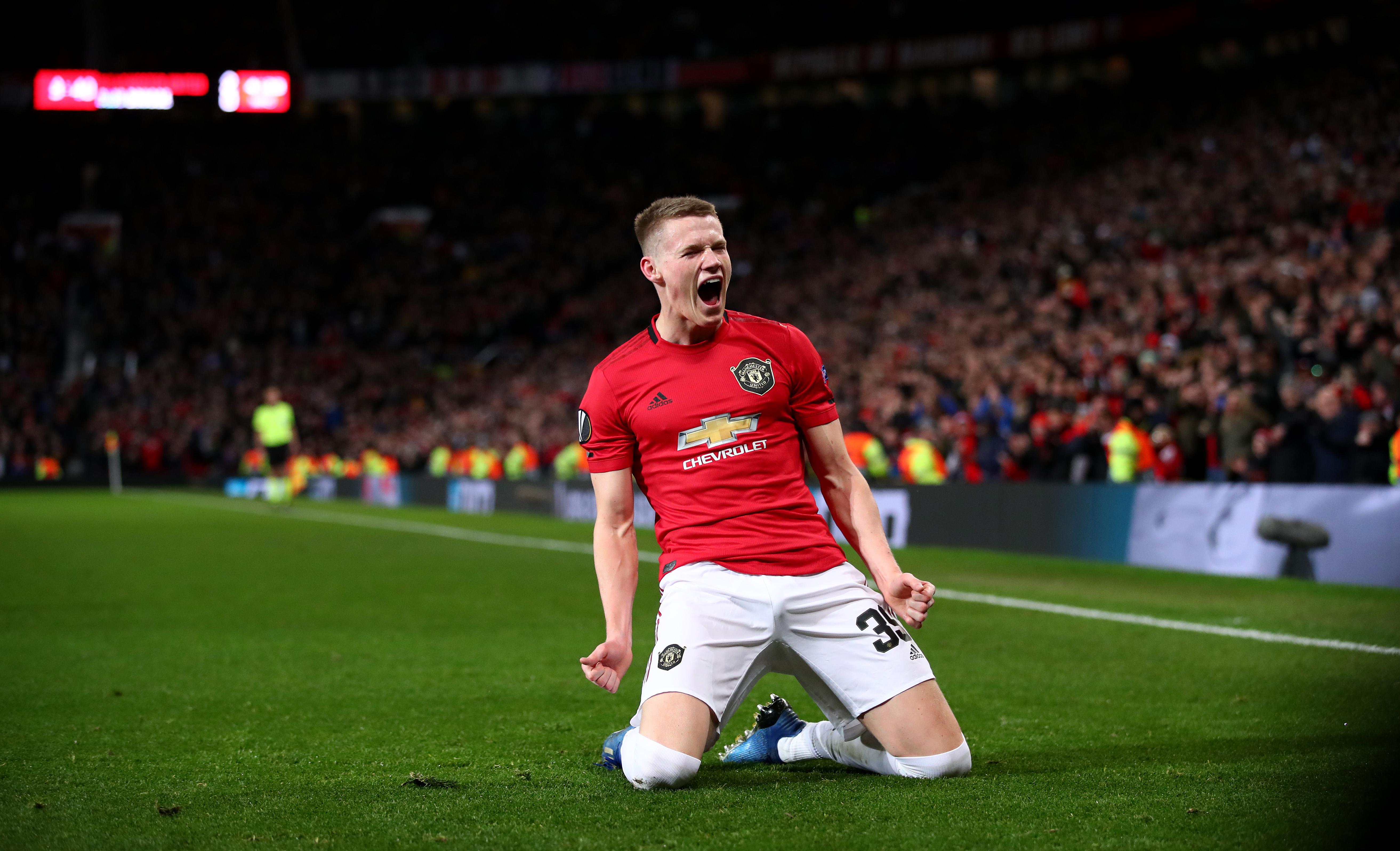 McTominay scored on his first start since December (Photo by Clive Brunskill/Getty Images)