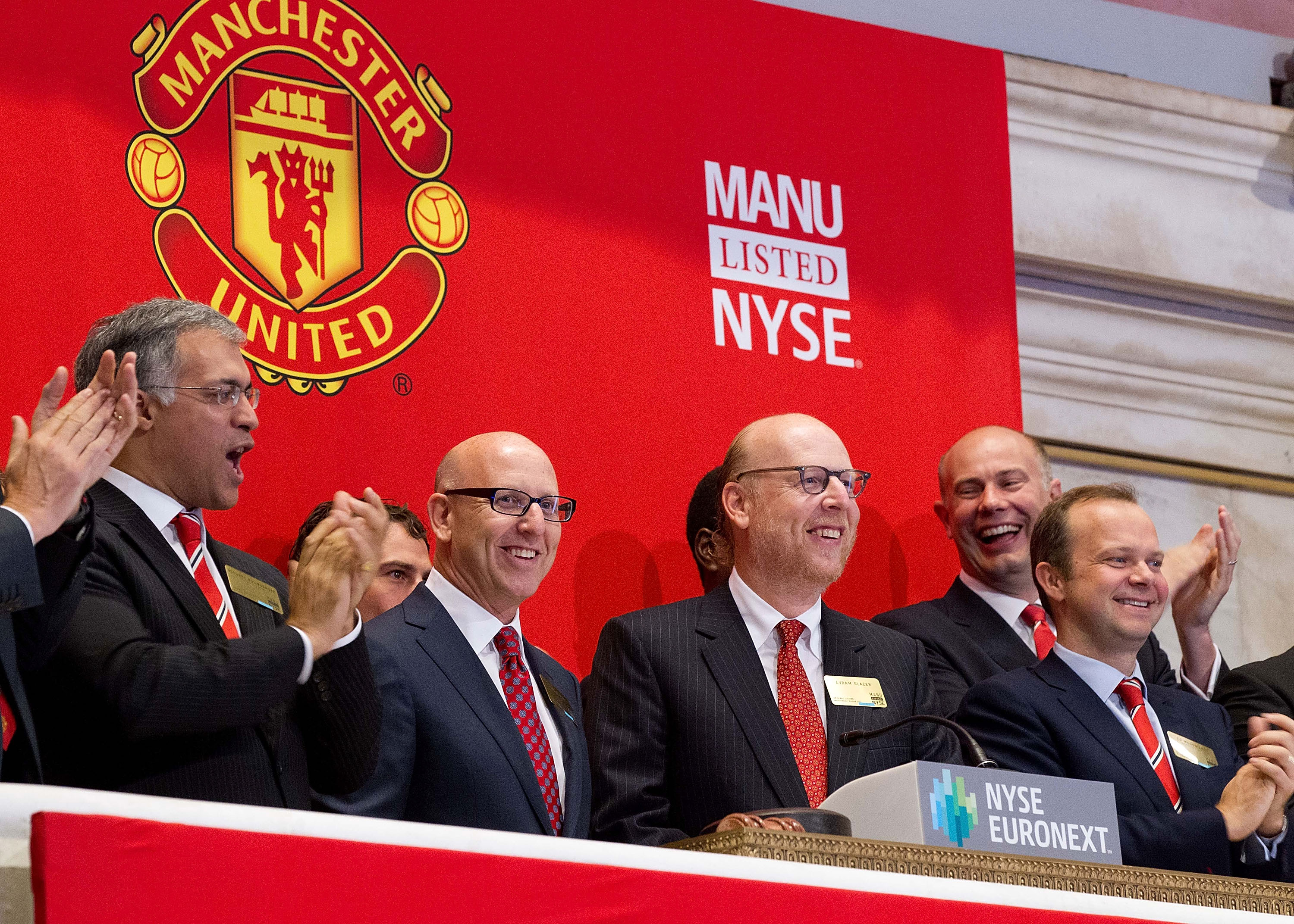 Ed Woodward assisted the Glazers' take over of Manchester United (Photo Dario Cantatore/Getty Images via NYSE Euronext)