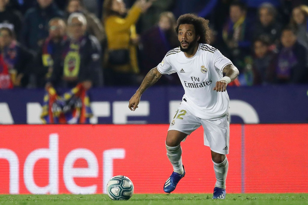 Marcelo impressed (Photo by Eric Alonso/Getty Images)