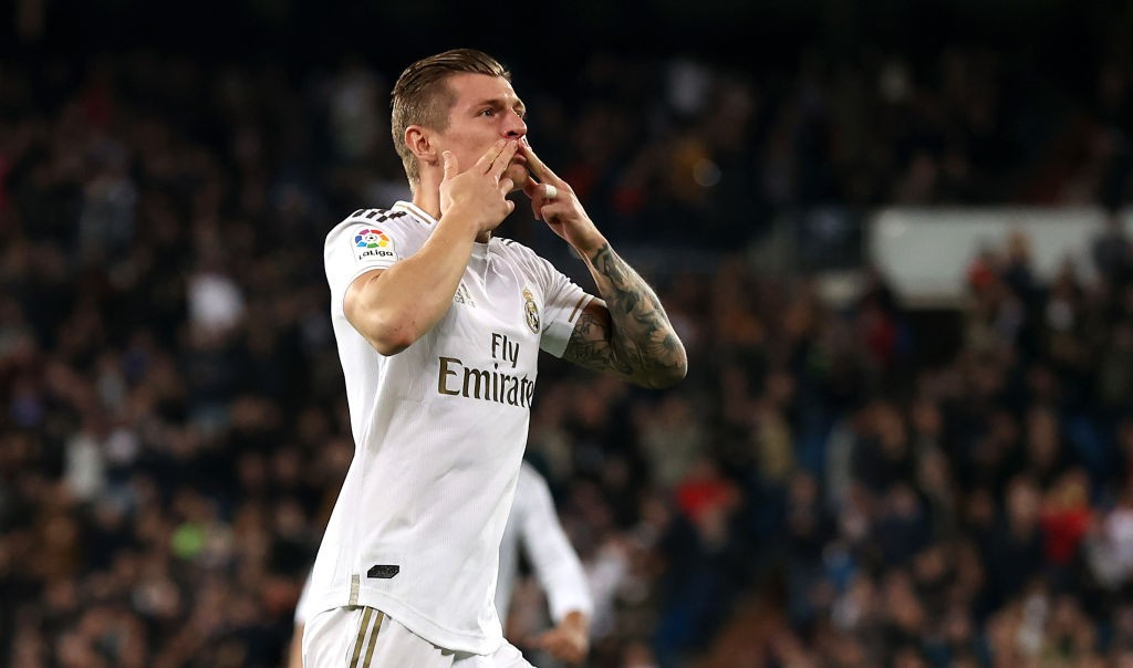 Kroos continued his excellent goalscoring record against Celta Vigo (Photo by Angel Martinez/Getty Images)