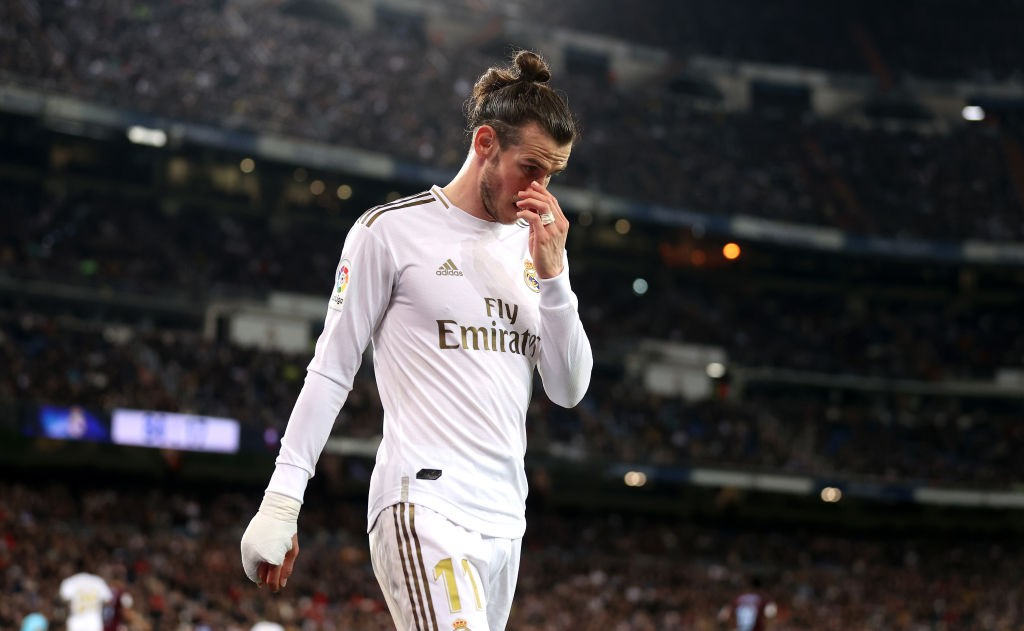 No antics from Bale from the bench tomorrow. (Photo by Angel Martinez/Getty Images)